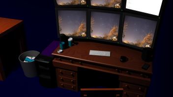 Brighton University Final Project Screenshot (Room)